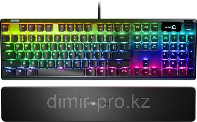 Клавиатура SteelSeries Apex 7 Brown Switch 64786 черный