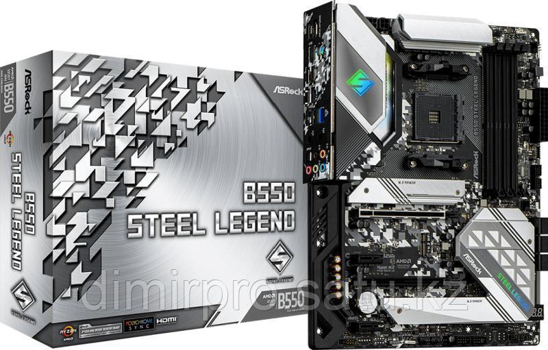 Материнская плата ASRock B550 Steel Legend