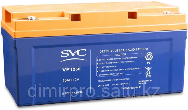 Аккумулятор SVC VP1250 синий-оранжевый
