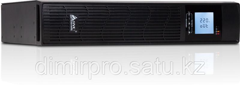 ИБП SVC RTU-1KL-LCD черный