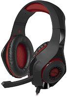 Игровые стереонаушники SVEN с микрофоном (AP-G886MV) черный-красный