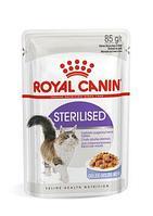 Royal Canin Sterilised в желе, влажный корм для здоровья мочевыделительной системы стерилизованных кошек