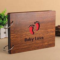 """Фотоальбом """"Baby Love"""", деревянный., фото 1"""