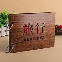 """Фотоальбом деревянный """"Journey"""", фото 1"""