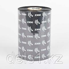 Красящая лента Zebra  (риббон)  воск (wax)  110мм/450м