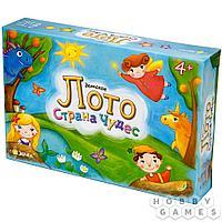 Настольная игра: Лото детское. Страна чудес, арт. BG-12003