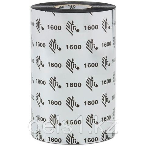 Красящая лента Zebra  (риббон)  воск (wax)  83мм/450м