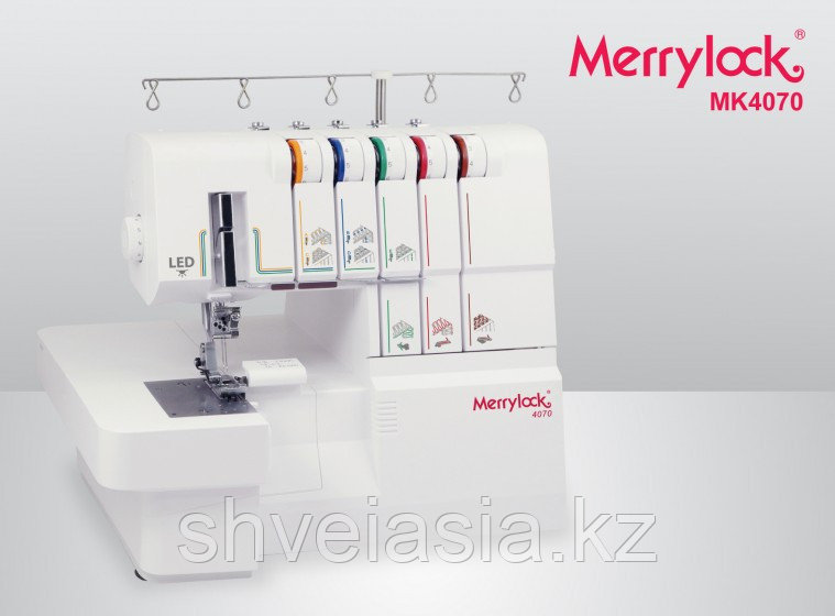 Оверлок 5 нит и Распош, Каверлок Merrylock 4070 (24опер-съемный рукав)