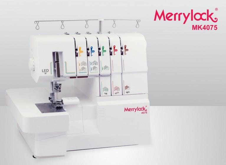 Оверлок 5 нит и Распош, Коверлок Merrylock 4075 (24опер-съемный рукав)