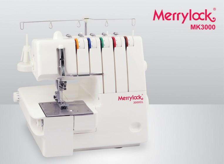 Оверлок 5 нит и Распош, Коверлок Merrylock 3000 cl (5000сl)