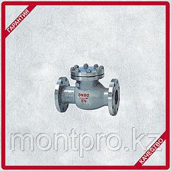 Клапаны обратные поворотные (вертикальные) фланцевые стальные (Ру-40) 100