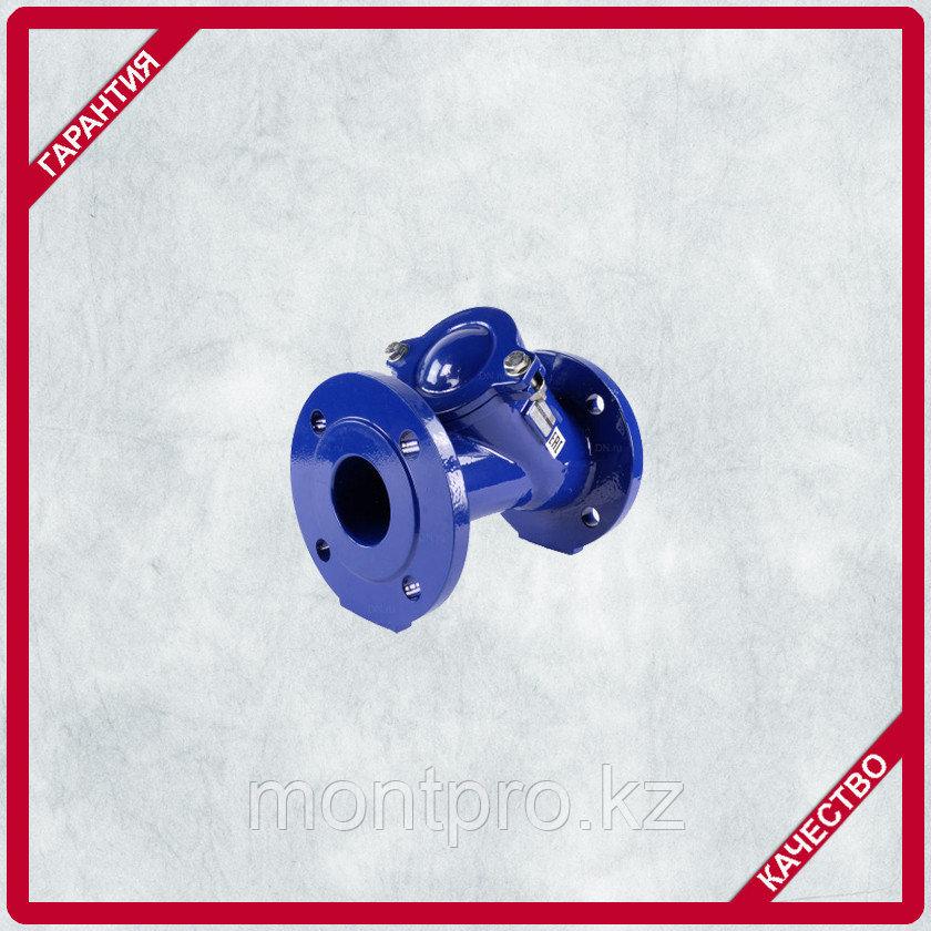 Клапан обратный шаровый фланцевый чугунный  (Ру-16)