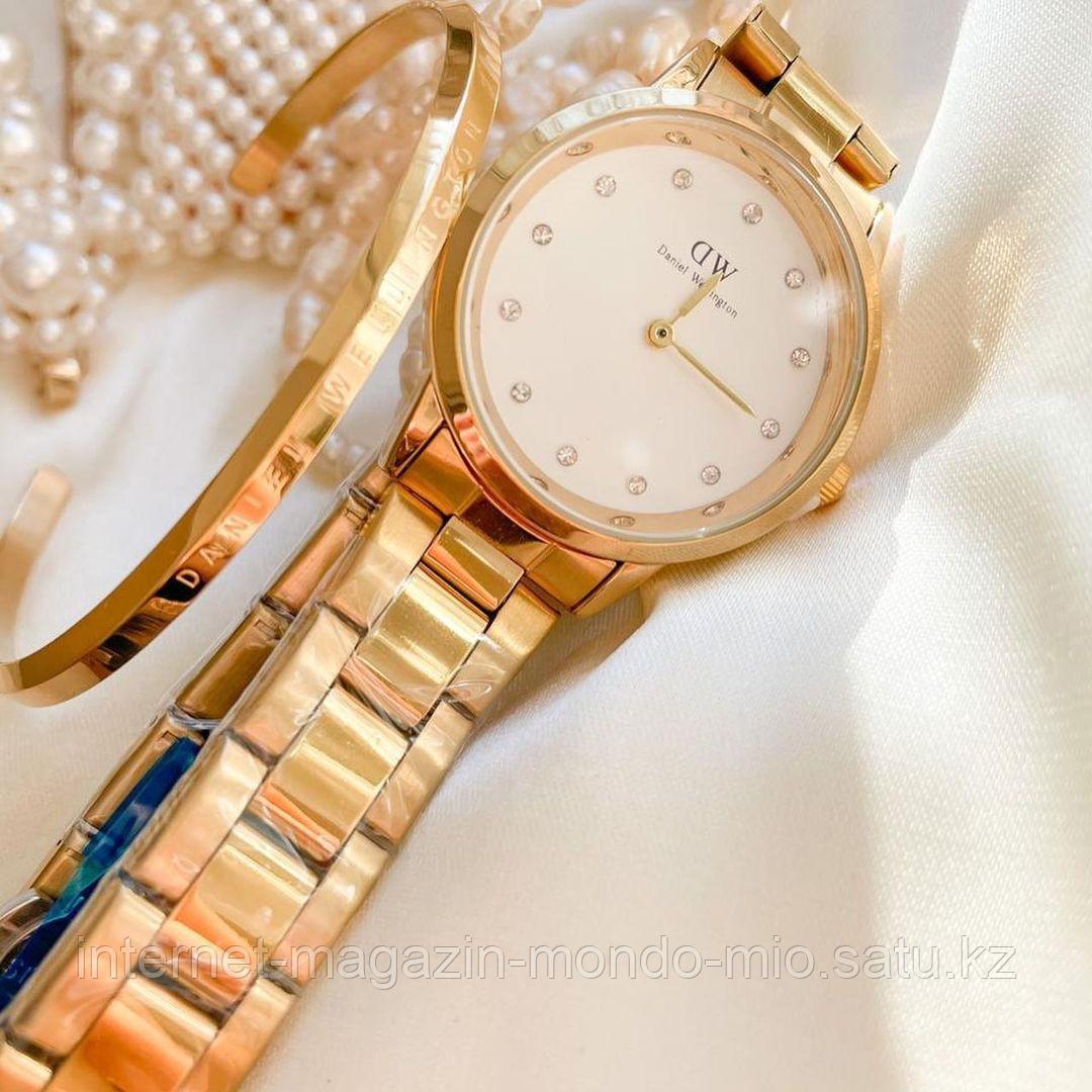 Набор часы и браслет DW
