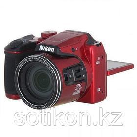 Фотоаппарат компактный Nikon COOLPIX B500 красный