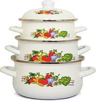 Наборы эмалированной посуды