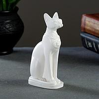 """Статуэтка """"Кошка египетская"""" белая, 15см"""