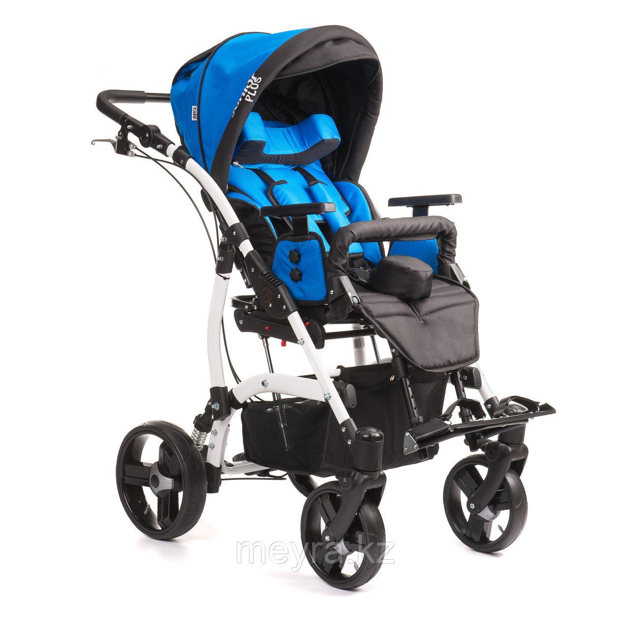 Детская инвалидная кресло-коляска JUNIOR PLUS, размер 2, прогулочная
