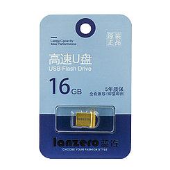 USB Flash 16Gb Lanzero mini F4, Gold