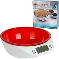 Весы-чаша кухонные электронные Delicious Kitchen Scales (Красный)