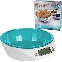 Весы-чаша кухонные электронные Delicious Kitchen Scales (Голубой)