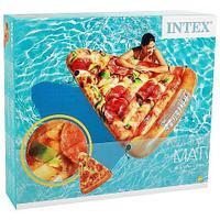 Плот-матрас надувной INTEX Sand & Summer для плавания (Пицца)