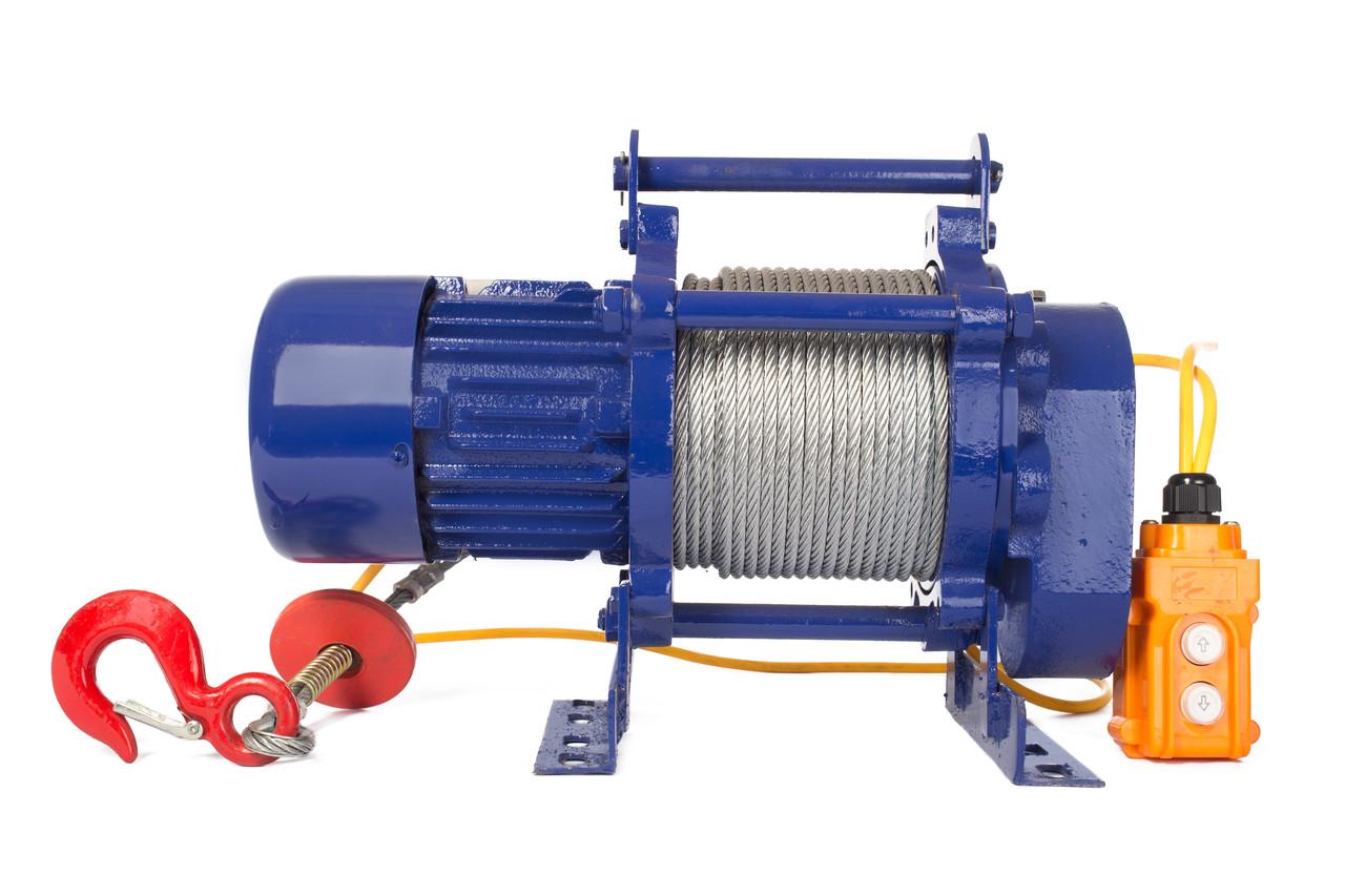 Лебедка TOR CD-300-A (KCD-300 kg, 380 В) с канатом 30 м