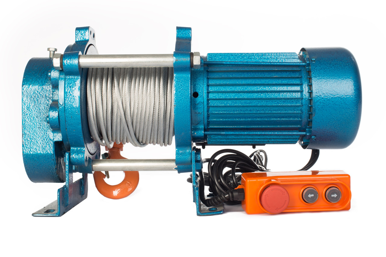 Лебедка TOR CD-500-A (KCD-500 kg, 220 В) с канатом 100 м