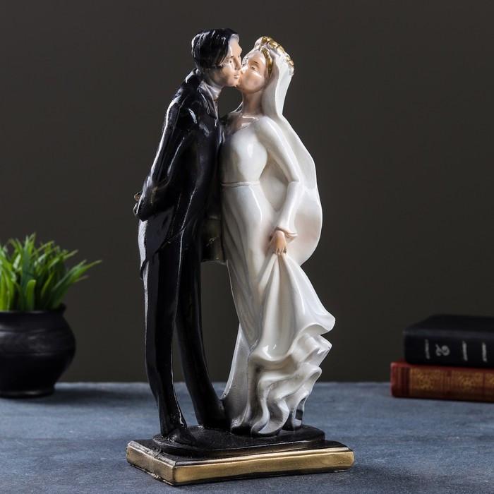 "Фигура ""Свадьба №2"" цветной 14х17х38см"