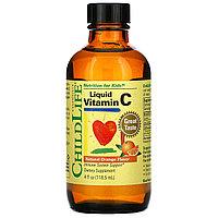 ChildLife, Essentials, витамин C в жидкой форме, натуральный апельсиновый вкус, 118,5 мл