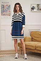 Женское осеннее трикотажное платье Fantazia Mod 3889 44р.