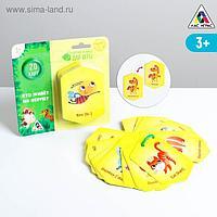 Карточки на кольце для изучения английского языка «Кто живёт на ферме?», 3+