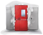 Противопожарные двери, преграды и ограждающие конструкции: нормативно-технические требования