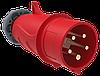 Вилка переносная ССИ-015 16А-6ч/200/346-240/415В 3Р+РЕ+N IP44 MAGNUM ИЭК