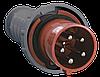 Вилка переносная ССИ-035 3Р+РЕ+N 63А 380-415В IP54 IEK