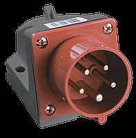 Вилка стационарная ССИ-515 3Р+РЕ+N 16А 380-415В IP44 IEK