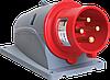 Вилка стационарная ССИ-524 32А-6ч/380-415В 3Р+РЕ IP44 MAGNUM ИЭК
