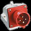 Вилка стационарная ССИ-524 3Р+РЕ 32А 380-415В IP44 IEK