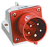 Вилка стационарная ССИ-525 3Р+РЕ+N 32А 380-415В IP44 IEK