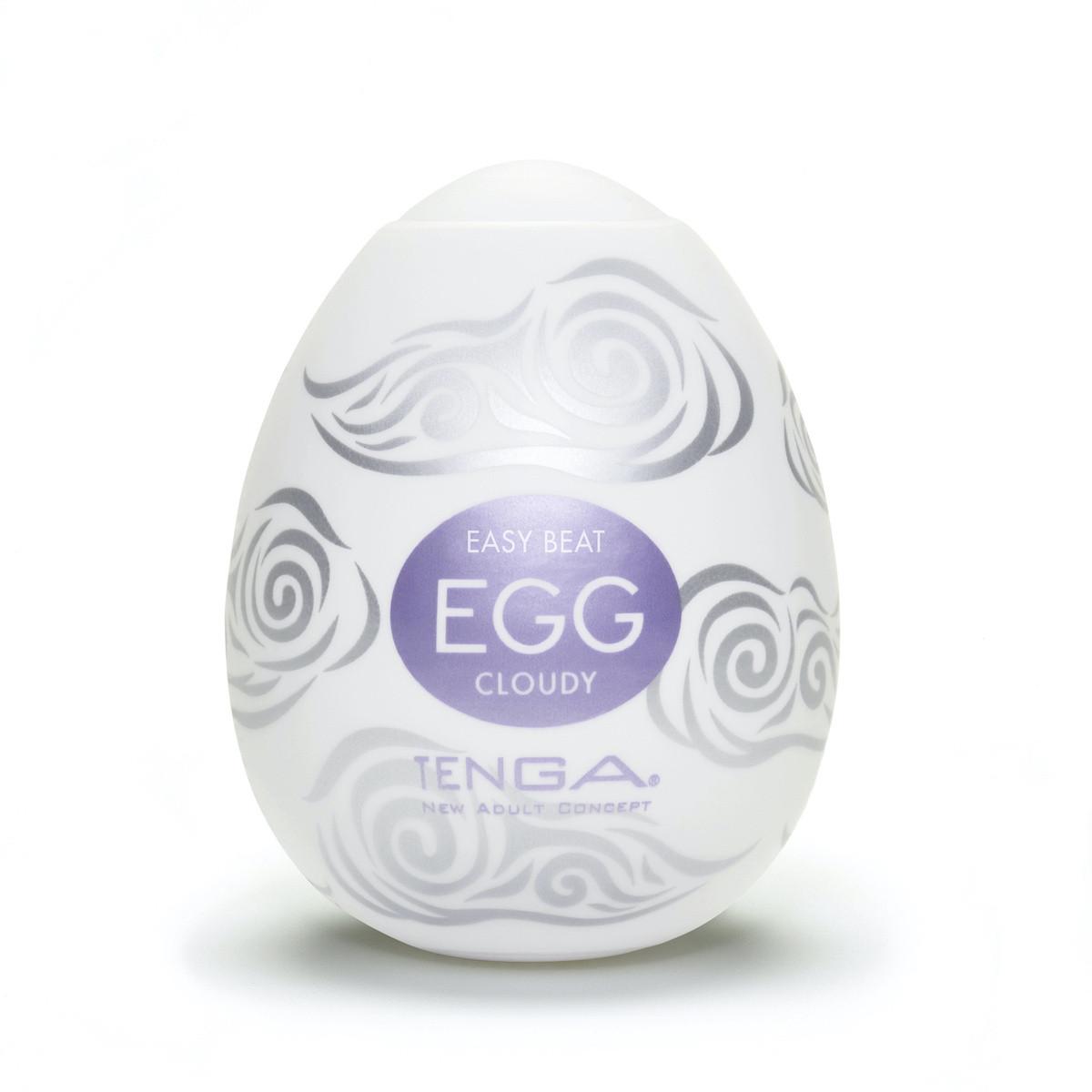 Яйцо - Мастурбатор Egg Cloudy от Tenga