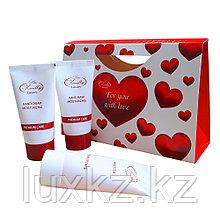Подарочный набор Красные сердечки