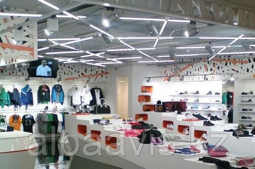 Освещение магазинов, торговых площадей, show room, бутиков, витрин, объектов торговли.