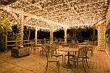 Освещение ресторанов, баров, кафе, летних площадок, подсветка зонтиков на летних площадках, фото 8