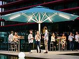 Освещение ресторанов, баров, кафе, летних площадок, подсветка зонтиков на летних площадках, фото 10