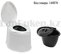 Стульчак для уличного туалета дачный двойной Альтернатива пластик