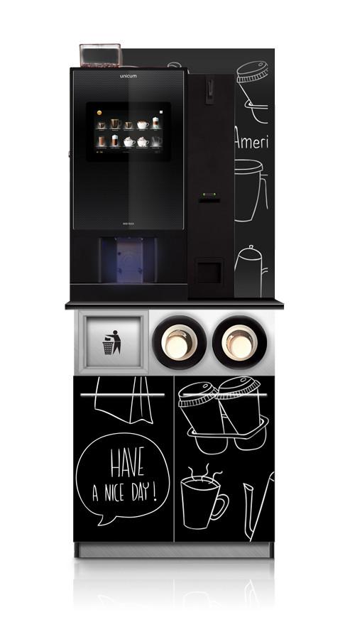 Тумба для кофейного автомата Кофепоинт Unit Mini