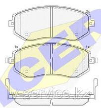 Тормозные колодки GROSS-270(REMSA 951.11)