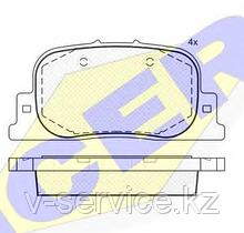 Тормозные колодки GROSS-284(REMSA 801.00)