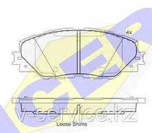 Тормозные колодки GROSS-443(REMSA 1234.00)