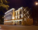 Освещение зданий, фасадов зданий светодиодной лентой, гибким неоном, прожекторами, светильниками., фото 2