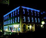 Освещение зданий, фасадов зданий светодиодной лентой, гибким неоном, прожекторами, светильниками., фото 7